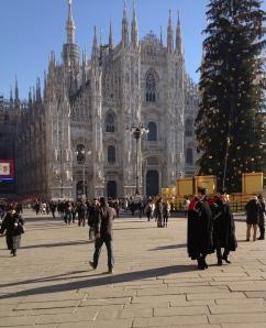 Il Duomo with Carabinieri