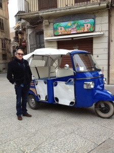 Sicilian eco-taxi