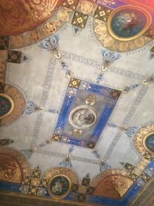 Bedroom ceiling in Palermo
